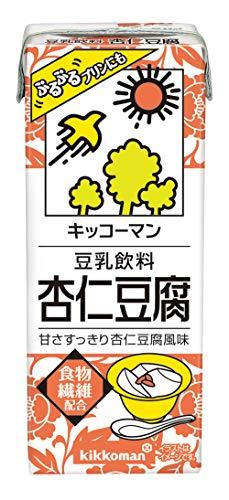 キッコーマン 豆乳飲料杏仁豆腐 200ml ×18本