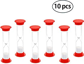 1 MINUTE SAND TIMERS SET OF 10PCS by BESSEEK