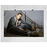 HJZBJZ Wentworth Miller Prison Break, póster de Actor Estadounidense e...