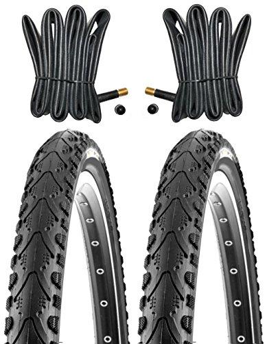 KENDA 2X Fahrradreifen 20 Zoll Reifen 20x1.75 47-406 inkl. 2X Schlauch mit AV gl