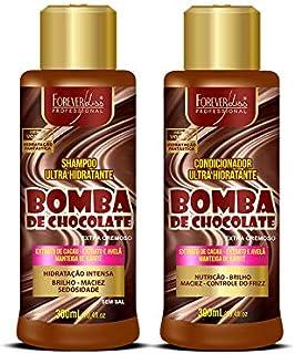 Kit de Chocolate com Shampoo e Condicionador Forever Liss