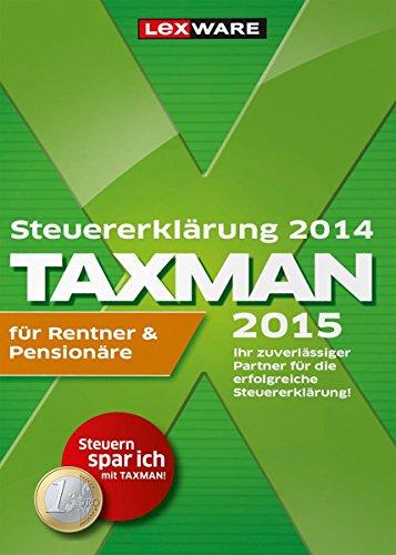 TAXMAN 2015 für Rentner & Pensionäre  [Download]