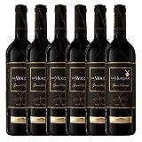 Los Molinos Gran Reserva Tinto D. O. Valdepeñas Vino - Paquete de 6 x 750 ml - Total: 4500 ml