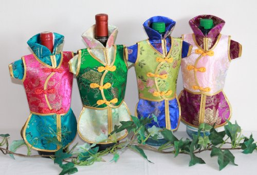 AAF Nommel®, Weinflaschen Beutel 03, 1 STK, Weinkleid, Flaschenbeutel, Flaschenverpackung Geschenkverpackung