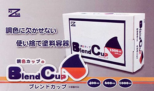 ゆたか磨材 BlendCup ブレンドカップ 調色カップ 600cc (180枚)
