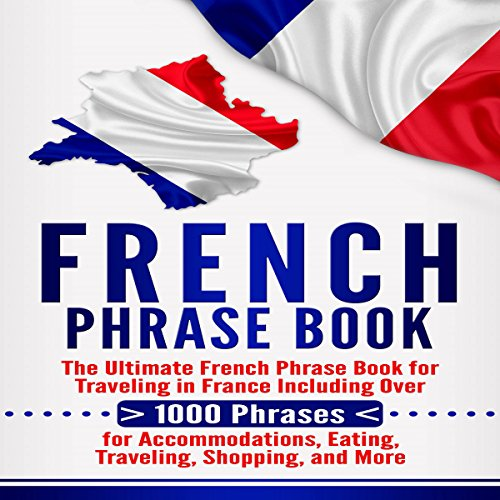 French Phrase Book audiobook cover art