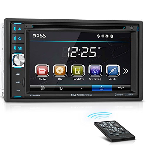 BOSS Audio BV9358B Car DVD Player - Double Din, Bluetooth Audio and...