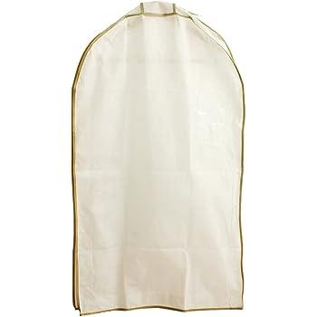 エーワン 洋服カバー WORTHY WORK プレーン マチ付サイドファスナーカバー(スーツ・ジャケット用) 3枚組 SA323