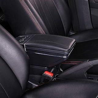 Yxsd Pour Opel Astra J Accoudoir Bo/îte Rotative Voiture Centrale Accoudoir Bo/îte de Rangement Cendrier Porte-gobelet Accessoires de D/écoration 2010-2013