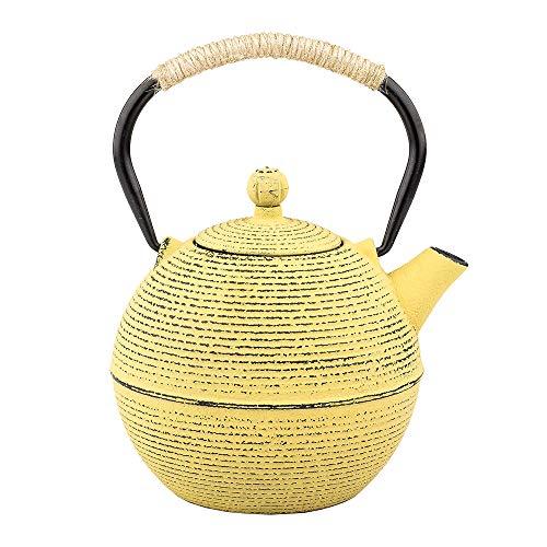 Tea Kettle, Japanese Cast Iron Teapot with Stainless Steel Infuser, Cast Iron Tea Kettle, Durable...