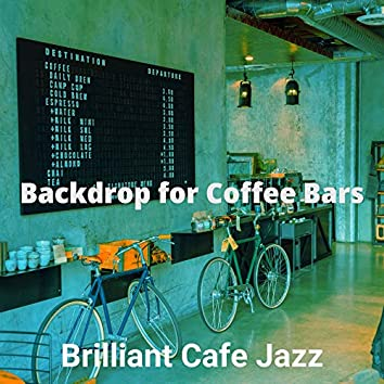 Backdrop for Coffee Bars