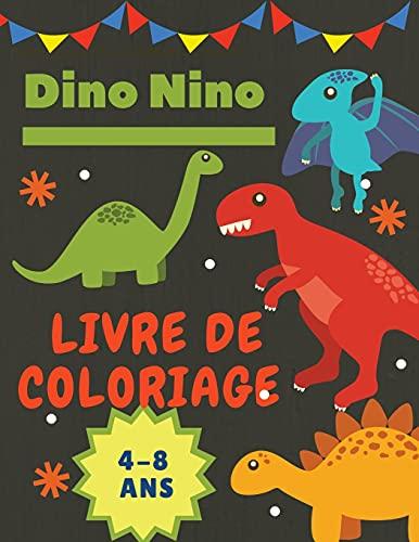 Dinosaure Livre de coloriage pour les enfants: Livre de coloriage fantastique sur les dinosaures pour les garçons, les filles, les tout-petits et les enfants d'âge préscolaire - grand format 8,5 x 11.