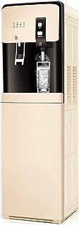 S-AIM Dispensador de Agua con Enfriador de Agua de Carga Inferior, Calentamiento rápido de 3 s, 3 configuraciones de Temperatura Agua Caliente, fría y fría, con Bloqueo de Seguridad para niños
