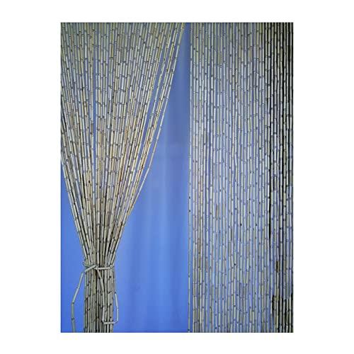 YJFENG Cortina De Puerta De Hilo De Cuentas De Bambú,Pantalla De Decoración De Divisor Colgante,para Puertas/Armarios,Entrada del Dormitorio De La Sala De Estar,Regalos para El Hogar
