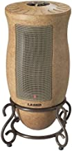 Lasko Oscillating Ceramic Heater with Decorative Finish and 2 Quiet Settings and Built-In Safety Features