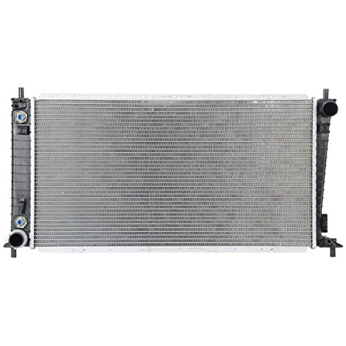 MGPRO Automatic Transmission 56mm Core Aluminum/Plastic Radiator Compatible with...