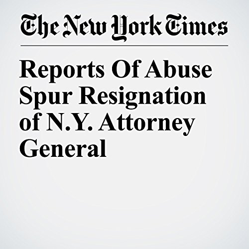 Reports Of Abuse Spur Resignation of N.Y. Attorney General copertina