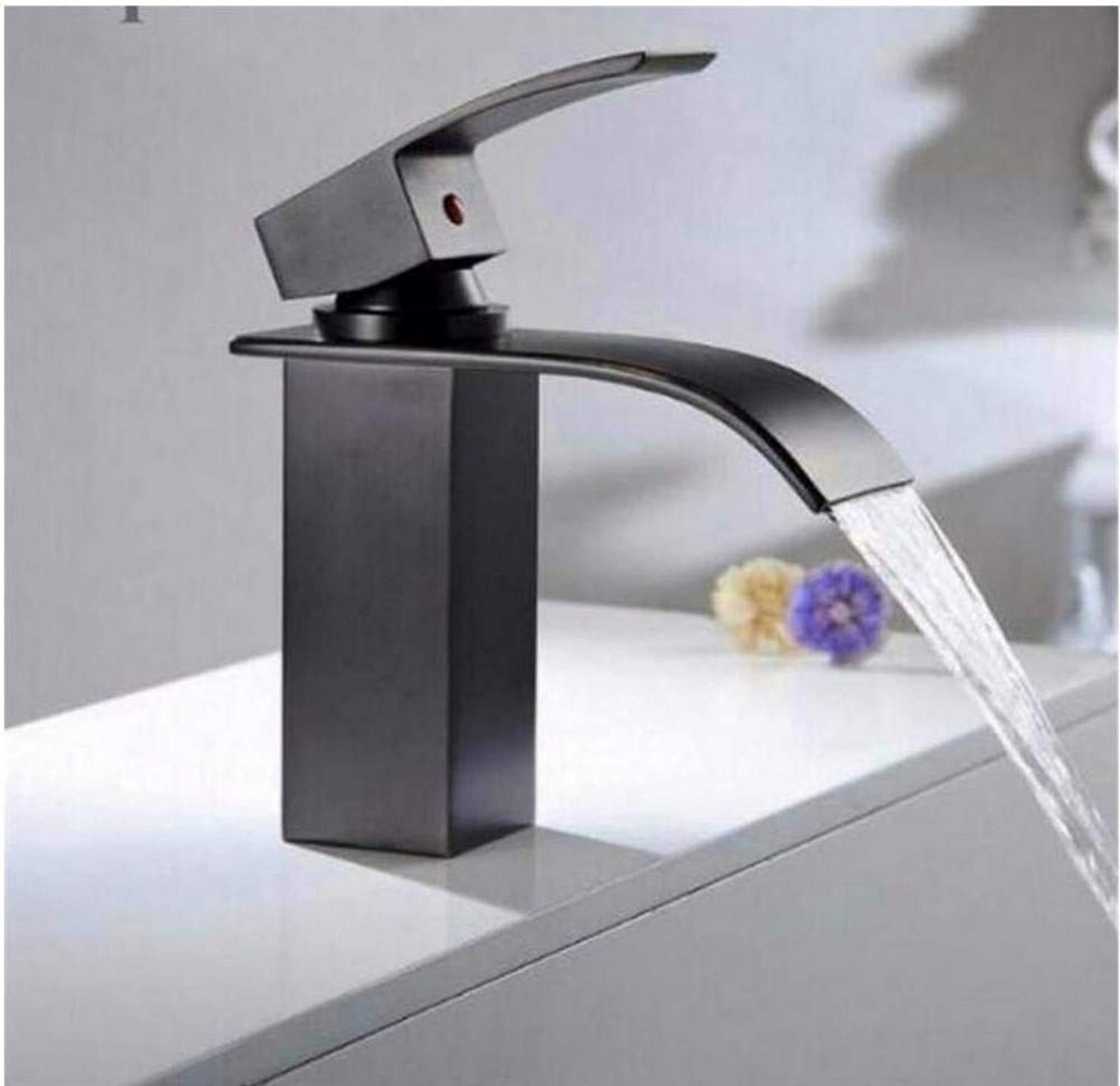 Brass Wall Faucet Chrome Brass Faucetfinished Bathroom Sink Waterfall Faucet Basin Faucet Luxury Water Tap