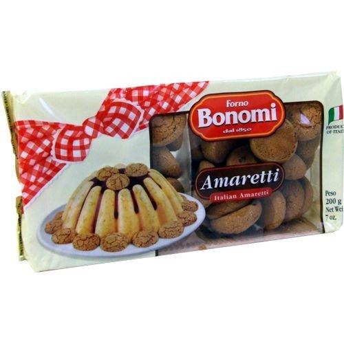 Forno Bonomi Amaretti 200g (italienisches Kaffee-Gebäck mit Aprikosenkernen)