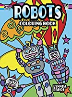 Robots Coloring Book (Dover Coloring Books)