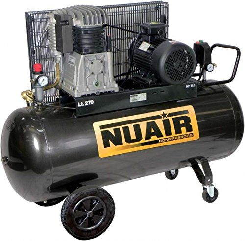 COMPRESSOR NUAIR 270 LT 5,5HP 380V