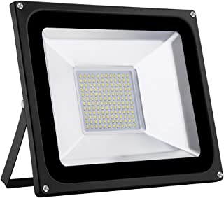 100W Garden Flood Light, LED Yard Landscape Spotlight with Warm Light, Home Decoratvie Wall Lamp,Waterproof Industry Secur...