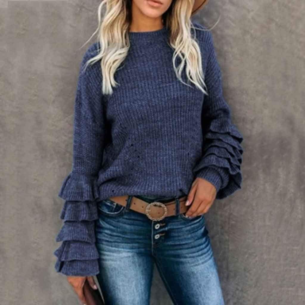 ZYING New popularity Woman Knitted Sweater 67% OFF of fixed price Black Winter Sweaters Knited Jumper