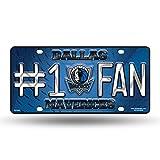 Rico NBA #1 Fan Metal Auto Tag -