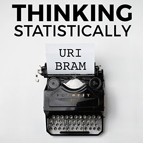 Thinking Statistically audiobook cover art