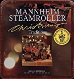 Mannheim Steamroller Christmas Traditions 3 CD Set Including Christmas Extraordinaire, Christmas in the Aire and Mannheim Steamroller Christmas.