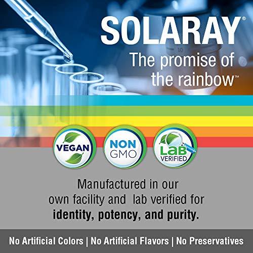 Solaray Feverfew Leaf 455mg | Head Discomfort, Circulatory Health & Blood Vessel Support Supplement | Vegan & Non-GMO | 100 VegCaps