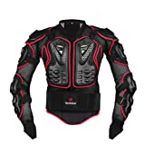 Best Armored Motorcycle Jackets - HEROBIKER Motorcycle Full Body Armor Jacket spine chest Review