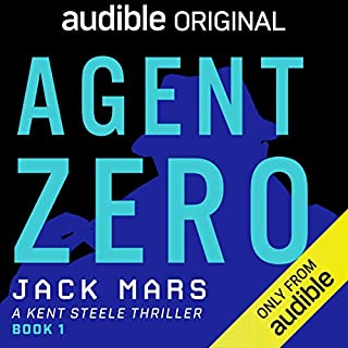 Agent Zero audiobook cover art
