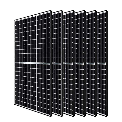 Renogy 120-cell Grid 6pcs 320 Watt Monocrystalline Panel Large Solar System, 6 Pieces, Residential Commercial House Cabin Sheds Rooftop