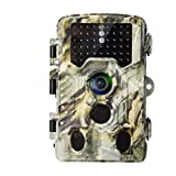 [2019 Upgraded] AlfaView 16MP 1080P HD Game Hunting Trail Camera with 120°Wide Angle