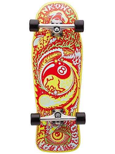 Santa Cruz Winkowski Dope Planet 80s Cruzer Komplett-Skateboard, Mehrfarbig, 25,6 cm L x 76,2 cm W