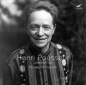 Henri Pousseur: Works for Flute