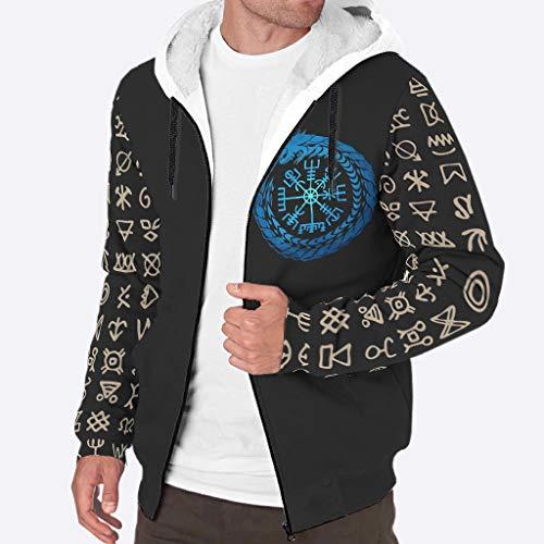 Twelve Constellations - Sudadera con capucha para adultos, diseño único, manga larga, color blanco