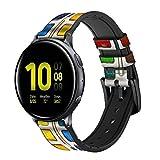 Innovedesire Watercolor Paint Set Correa de Reloj Inteligente de Cuero y Silicona para Samsung Galaxy Watch Watch3, Gear S3 Models Gear S3 Frontier Gear S3 Classic Tamaño (22mm)