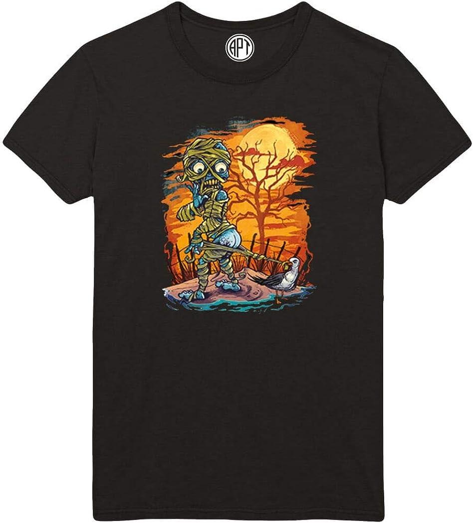 Halloween Mummy Printed T-Shirt