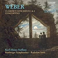 Clarinet Concertos No. 1 & 2 Concertino