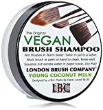 London Brush Company Makeup Pinsel Seife LBC Vegan Solid Brush Shampoo: Young Coconut 1oz, 1 Stück