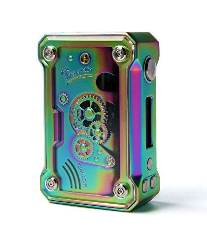Authentische Tesla Punk 220W Akkuträger Box Mod Farbe (Rainbow)