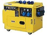 Rotek Diesel Stromerzeuger mit Notstart-Automatik GD4SS-1A-6000-EBZ-ATS (6,0 kVA / 5,0kW 230V 50Hz 1-phasig)
