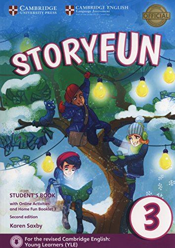 Storyfun for Movers Level 3 Student's Book with Online Activities and Home Fun Booklet 3 [Lingua inglese]