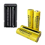 Best 18650 Battery Button Tops - Smart Dual 18650 Battery Charger Recharge with 4 Review