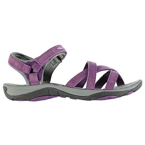 802296fe735aae Karrimor Ladies Cross Strap Salina Leather Outdoor Walking Sandals