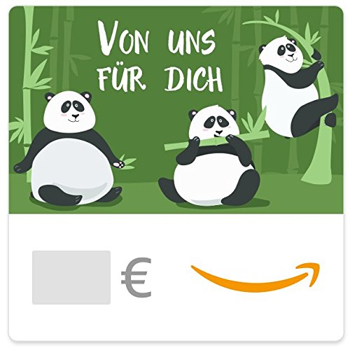 Digitaler Amazon.de Gutschein (Pandabären)