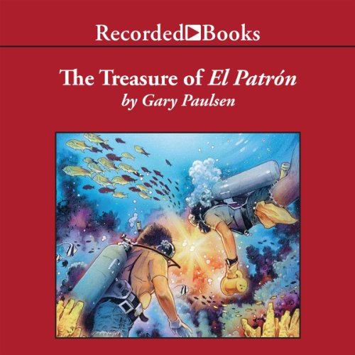 The Treasure of El Patrón audiobook cover art