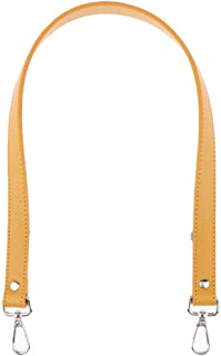Prettyia 25 Inch PU Leather Replacement Shoulder Strap, Silver Tone Metal Buckles, 25.2